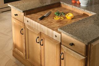 Unique Kitchen Islands Designed With Yorktowne Kitchen Cabinets