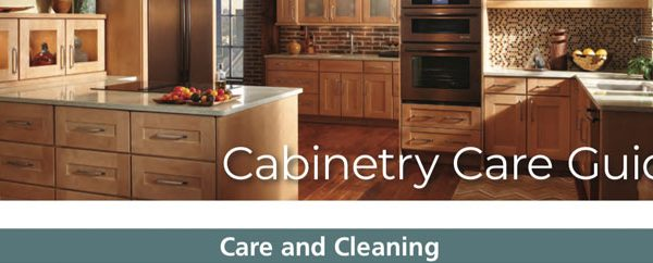 Kitchen Cabinet Care & Cleaning