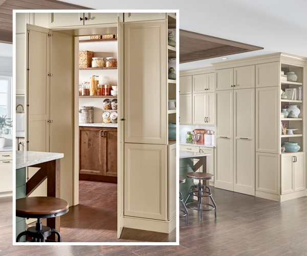 Walk In Pantry and New Storage Solutions